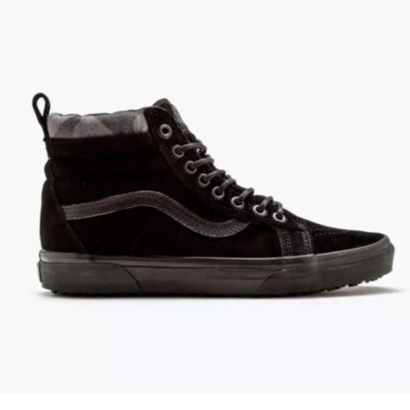 8c7ff4882d1a Vans Sk8 Hi MTE Sneakers Shoes Black Camo Shoes